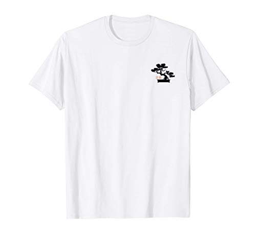 Bonsai Tree Japanese Minimalist Design Pocket Bonsai T-Shirt