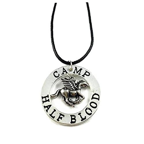 Ruluti Último Olímpico Campamento Mestizo Percy Pegasus Zeus Mitad Collar Sangre - Percy Colgante De Cosplay
