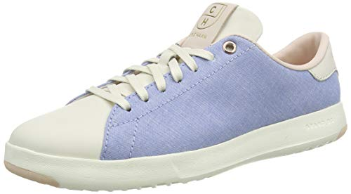 Cole Haan Damen Grandpro Tennis Sneaker, Blue (Chambray/Peach Blush/Rose Gold/Ivory Chambray/Peach Blush/Rose Gold/Ivory), 39 EU
