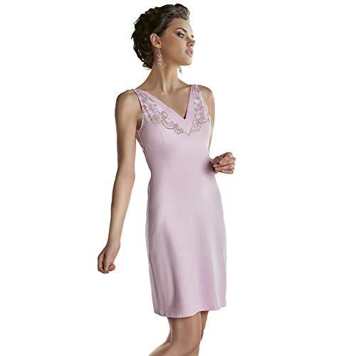 Dames Nachtkleding Elegante en Comfortabele Nachtkleding V-hals Slaapmode Mooie Kant Decoratie Nightie