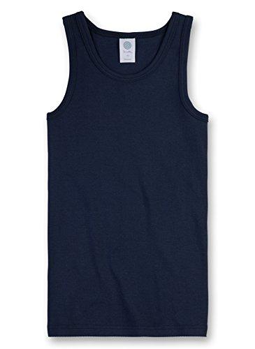 Sanetta Jungen 300000 Unterhemd, Blau (Neptun 50226), 128