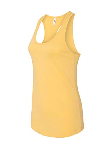 Next Level Apparel Women's The Ideal Quality Tank Top, Banana Cream, Small