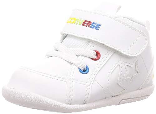 [コンバース] スニーカー ミニ インチスター ベビー ホワイト/ホワイト 13.5 cm