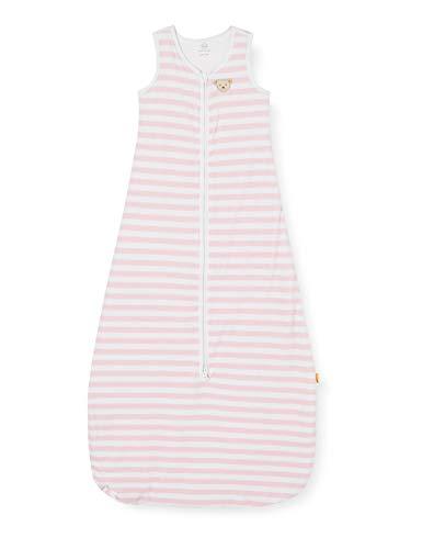 Steiff Unisex Baby Sleeping Bag Kleinkind-Schlafanzüge, Rosa, 90