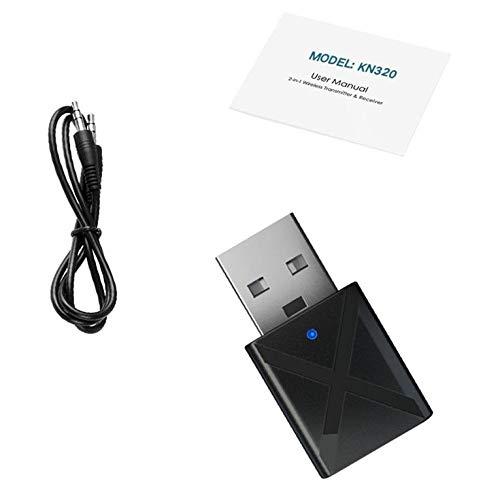 Transmisor inalámbrico USB 2 en 1 Receptor Transmisor Receptor 0 Modo Transmisor Modo Receptor Amplia Compatibilidad