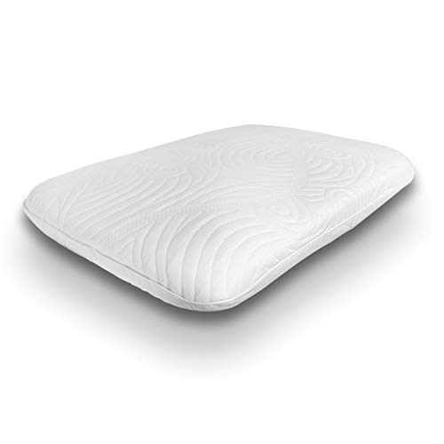 Dormeo Octaspring True Evolution Pillow   Two Layered Memory Foam Pillow Made with Breathable Octaspring Technology   Designed for Back and Side Sleepers