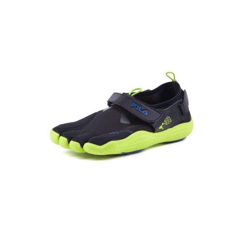 Fila Kid's Skele-Toes EZ Slide Drainage Five Finger Athletic Shoes Black Size 11