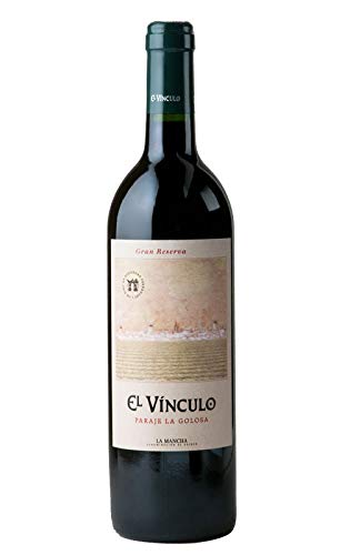 EL VINCULO PARAJE LA GOLOSA GRAN RESERVA 100% TEMPRANILLO 75cl. Envío GRATIS 24h. (Pack 6 Botellas)