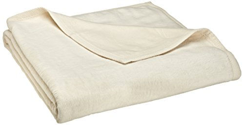 Peacock Alley All Seasons Blanket, Twin, Natural