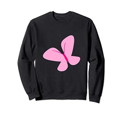 Mariposa rosa Sudadera