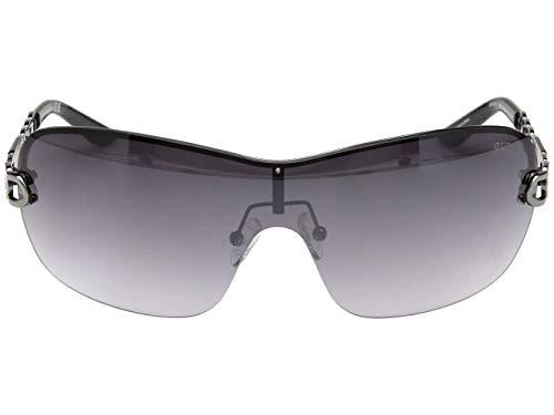 Guess Damen GF6043-00088 Sonnenbrille, Blau (Azul), 72.0