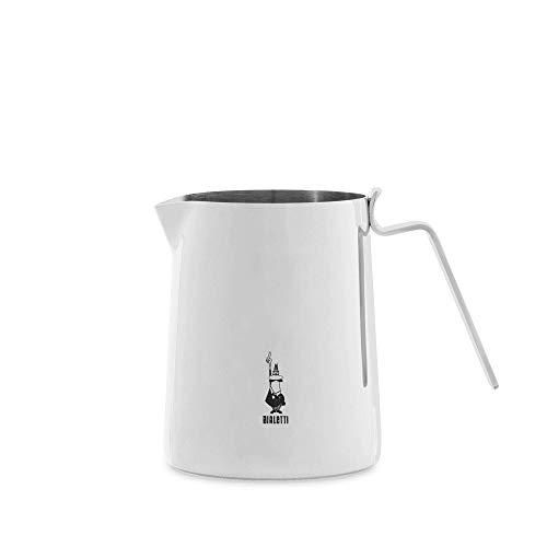 Bialetti 0001808 Milchkännchen Edelstahl, Rostfreier Stahl, Silber, 20 cm