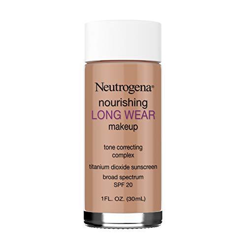 Neutrogena Nourishing Long Wear Liquid Makeup Foundation With Sunscreen, 135 Chestnut, 1 Fl. Oz.