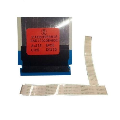 Desconocido Cable Flex/LVDS EAD63969915 LG 49UJ630V-ZA, 49UJ634V-ZD 55UJ630V-ZA.