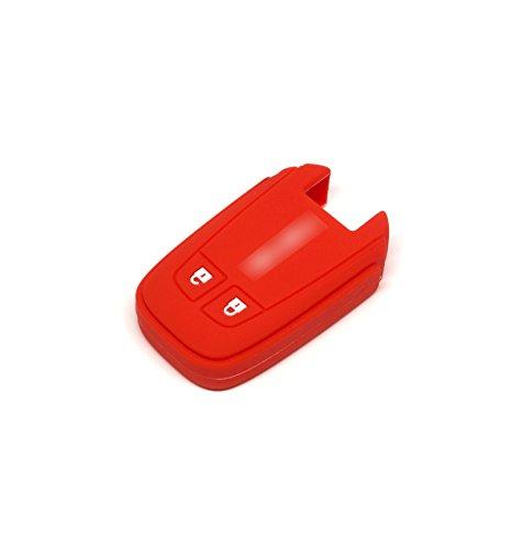 pananas Isuzu X-Series Mu-x 3.0 Silicone Protecting Remote Key Case Cover Fob Holder for All New Isuzu D-max/Mu-x 3.0 / X-Series (red)