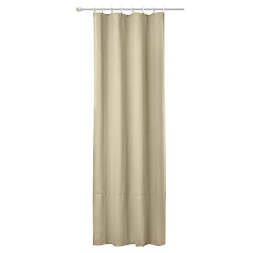 WOLTU Cortina Opaca,el cordón el Sombreado Cortinas de Luz para la Entrada Principal Dormitorio 135x225 cm Color Arena (1 Pieza)