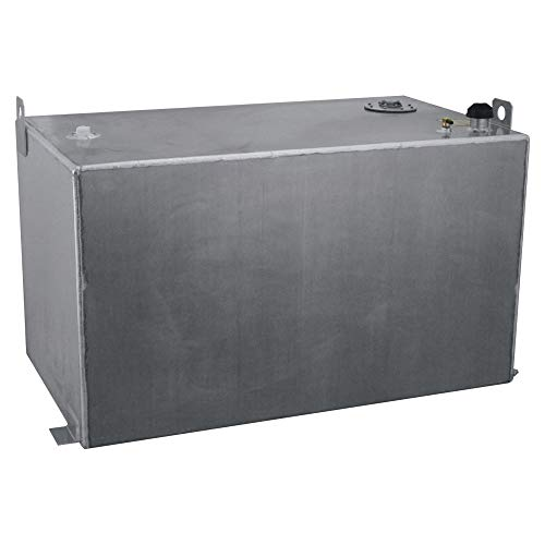 RDS Aluminum Auxiliary Transfer Fuel Tank - 200 Gallon, Rectangular, Smooth, Model Number 73217