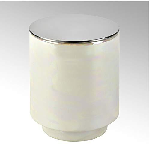 Lambert - Duftkerze Editta im Gefäß - Champagner - D 8 cm x H 10 cm - Duft Orange Blossoms & Ginger