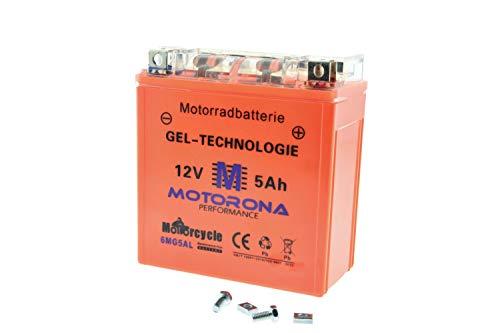 Gel Akku Batterie für MZ und Jawa 12V 5Ah, wartungsfrei Preis inkl. 7,50€ Pfand