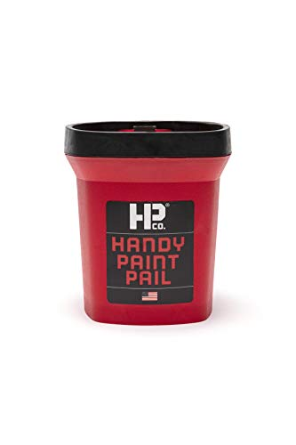 Bercom 2500-CT Handy Paint Pail, 1 Pack, Red