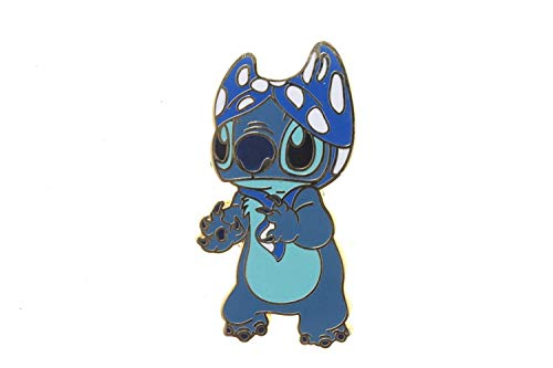 Disney Lilo & Stitch personajes de punto de–con un Bikini parte superior sobre su cabeza Pin