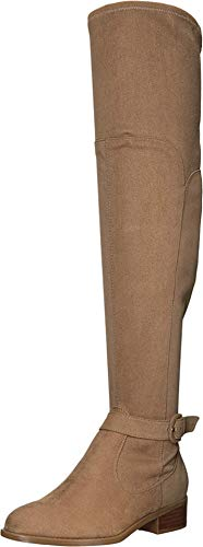 NINE WEST Nacoby Riding Boot Wheat 7