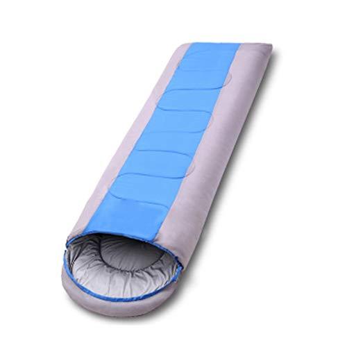 Queen Boutiques Sac De Couchage De Camping Chaud pour Adulte en Plein Air Sac De Couchage en Coton Sale Sale Portable Intérieur (Color : Blue, Taille : XL-1.8KG)
