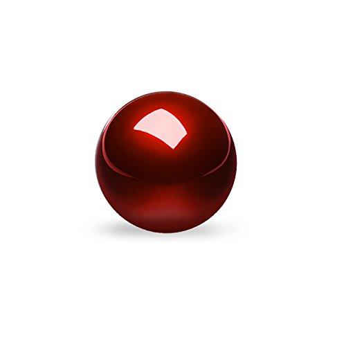 Perixx PERIPRO-304 55mm Trackball - Rojo Brillante - Compatible con Varios Ratones...