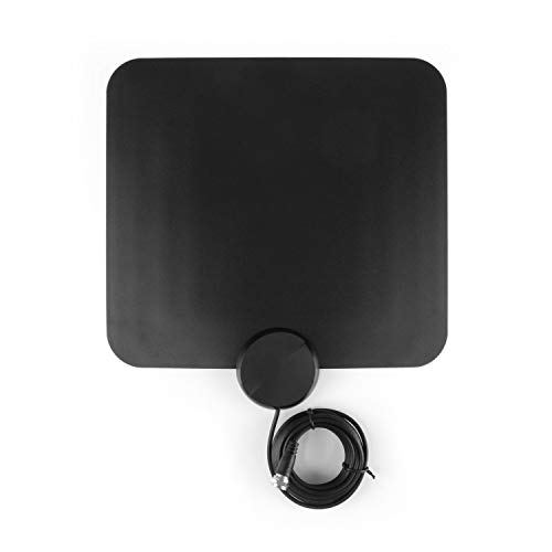 Aluratek Indoor HD Digital Amplified TV Antenna (Free Over-The-Air) HDTV Channels