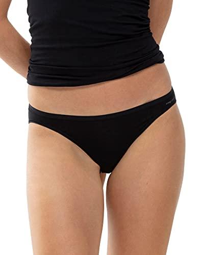 Mey Basics Serie Organic Damen Mini-Slips Schwarz M(40)