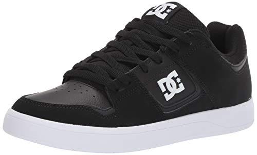 DC Men's Shoes Cure Skate, Black, 11 M US