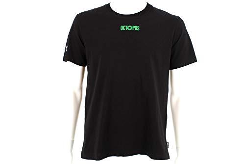 Octopus T-Shirt Maniche Corte Uomo Logo Tee Black S
