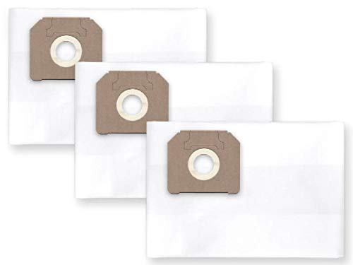 3x Fieltro Bolsa para el polvo Saco de filtro para Fein/Diseño Polvo de 6capas para Nilfisk Attix 40–01PC; 40–21pc/XC; Maxx 35WD; VL50035BSF/EDF