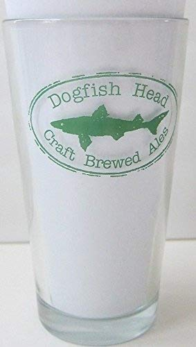 Dogfish Head Craft Brewed Ales – Pint Glass