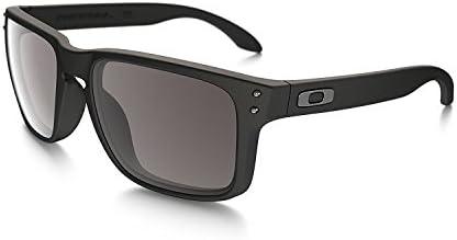 Oakley Holbrook Sunglasses 57MM Matte Black Frame Warm Grey Lens product image