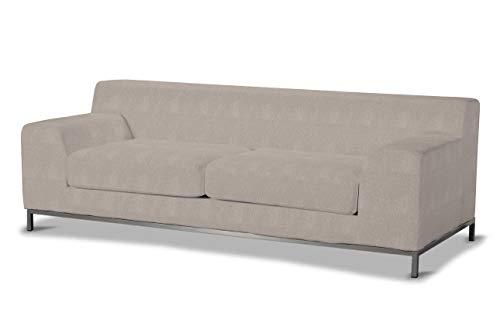 Dekoria Kramfors 3-Sitzer Sofabezug Sofahusse passend für IKEA Modell Kramfors beige-grau