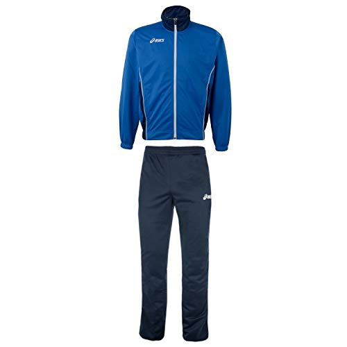 ASICS Herren Trainingsanzug Suit Victor (royal-Navy, XXL (58))