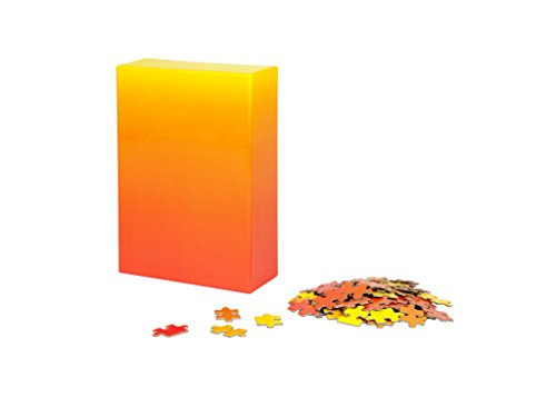 Areaware Gradiente Puzzle, Rojo/Amarillo