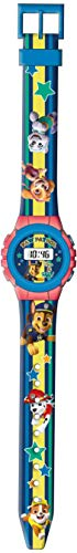 Kids Licensing  Reloj Digital para Niños   Reloj Paw Patrol  Diseño Patrulla Canina  Reloj Infantil Resistente   Reloj de Pulsera Ajustable  Bisel Reforzado   Reloj de Aprendizaje   Licencia Oficial