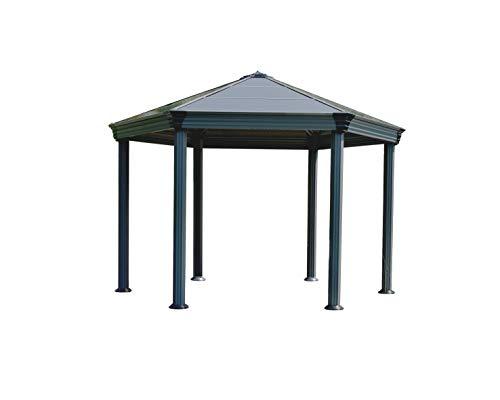 Palram Roma Gartenpavillon, Grau, 414,5x359x304,6 cm