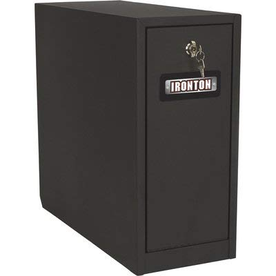 Ironton Sidebed Storage Drawer Truck Tool Box - 5-Drawer, Steel, Matte Black, Twist Latch, 21in. x 10.34375in. x 22.6in.