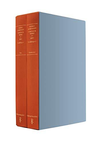 Sämtliche Werke Band XIII (in zwei Teilbänden): Erzählungen 1