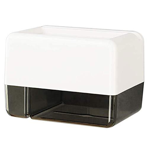 JJZXD Papel higiénico Titular, no Perforada Impermeable Soporte de Papel higiénico, con la Basura móvil Bolsa, for Baño, Cocina