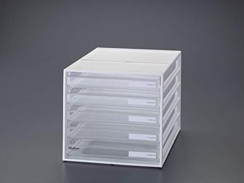 エスコ(ESCO) レターケース(ホワイト) 250x340x230mm/5段 EA954JA-2