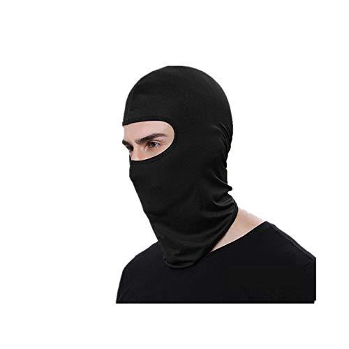 Balaclava Outdoor Riding Motorcycle Windproof, Sunscreen, dustproof mask mask Headgear (Cs-02 Black)