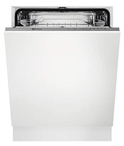 Electrolux EEA17100L Lavastoviglie a Scomparsa Totale, 60 cm, Capacità 13 Coperti, Bianco