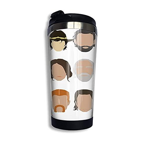Tazas térmicas Taza de café con aislamiento de acero inoxidable The Walking Dead Taza de viaje Regalo novedoso 400ml