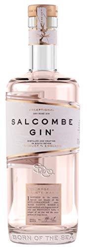 Salcombe Gin Rosé Sainte Marie. Rose Gin ohne Farbstoff aus England. 0,7 L, 41,4% Vol.