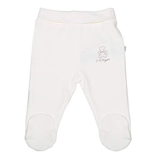 Sevira Kids - Pantalon bébé à pieds en coton bio, BASIC