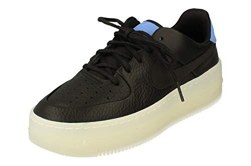 Nike Air Force Sage Low LX Sneaker (42 EU, Black/Royal Pulse)